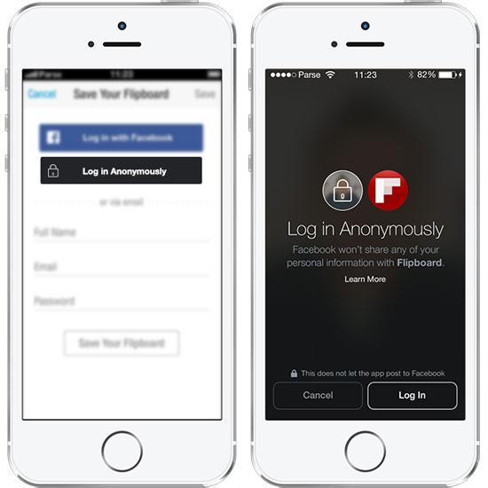 Facebook กำลังซุ่มพัฒนาระบบล็อคอินสำหรับแบบไม่เปิดเผยตัว