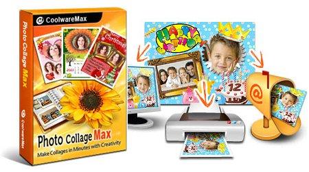 โปรแกรมใส่กรอบรูปน่ารัก Photo Collage Max 2.3