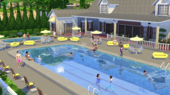 The Sims 4 Update เพิ่มระบบสระว่ายน้ำแล้ว หลังจากที่เคยประกาศว่าจะตัดระบบนี้ออกจากเกมส์
