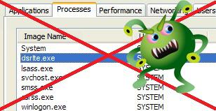 วิธีลบไวรัส dsrlte.exe แล้วไวรัสตัวนี้มันรุนแรงยังไง