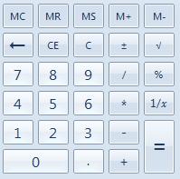 วิธีเปิดใช้งาน calculator advance บน windows 7