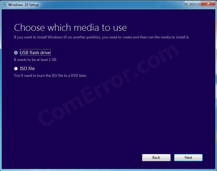 การสร้าง USB bootable windows 10