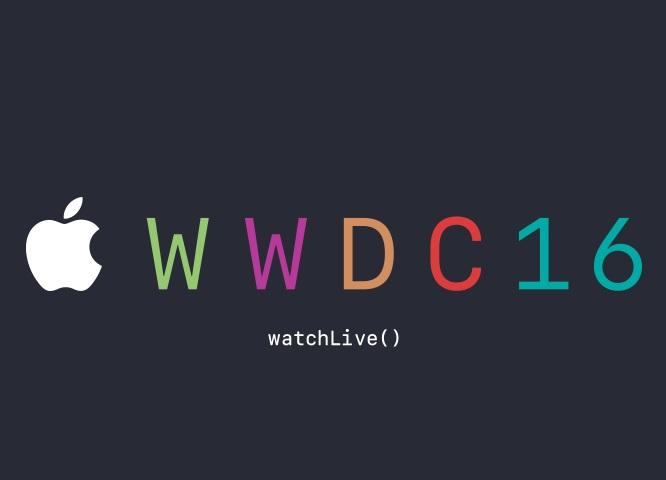 โลโก้งาน WWDC 16 ของ apple
