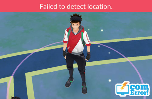 วิธีแก้ Failed to detect location