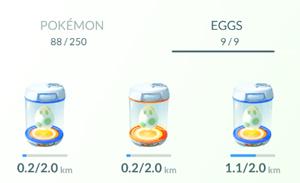 ไข่ pokemon กำลังถูกฟัก