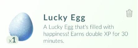 Lucky Egg คืออะไร