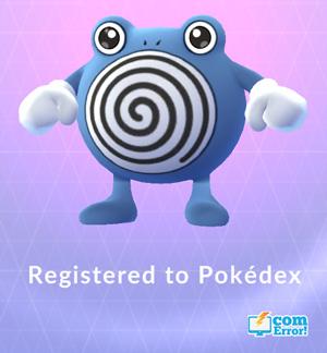เก็บเลเวลด้วยการจับ Pokemon ตัวใหม่