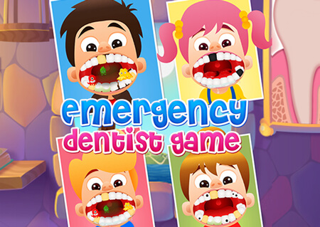 Emergency Dentist Game is the pretty cute game for kids who have been dreaming to be a Dentist.
