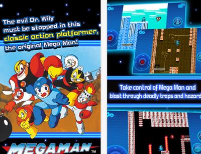สาวก MEGAMAN (ร็อคแมน) เฮ CAPCOM เปิดให้ดาวน์โหลดแล้ว บนสมาร์ทโฟน android และ ios