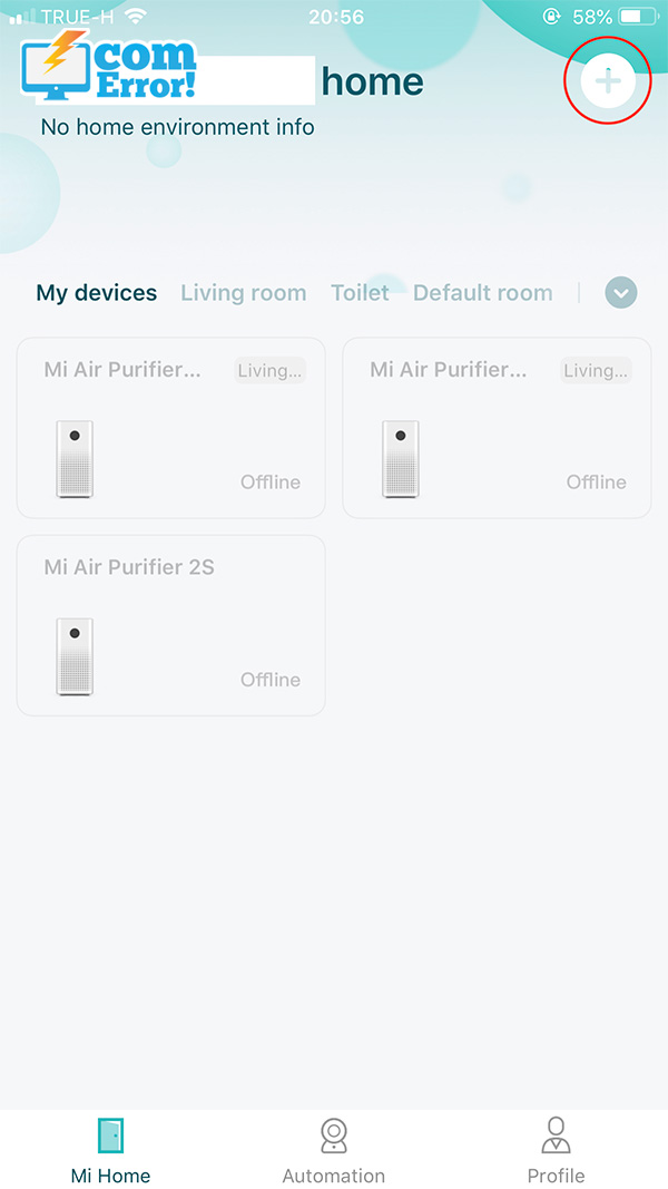 แอป Xiaomi Home