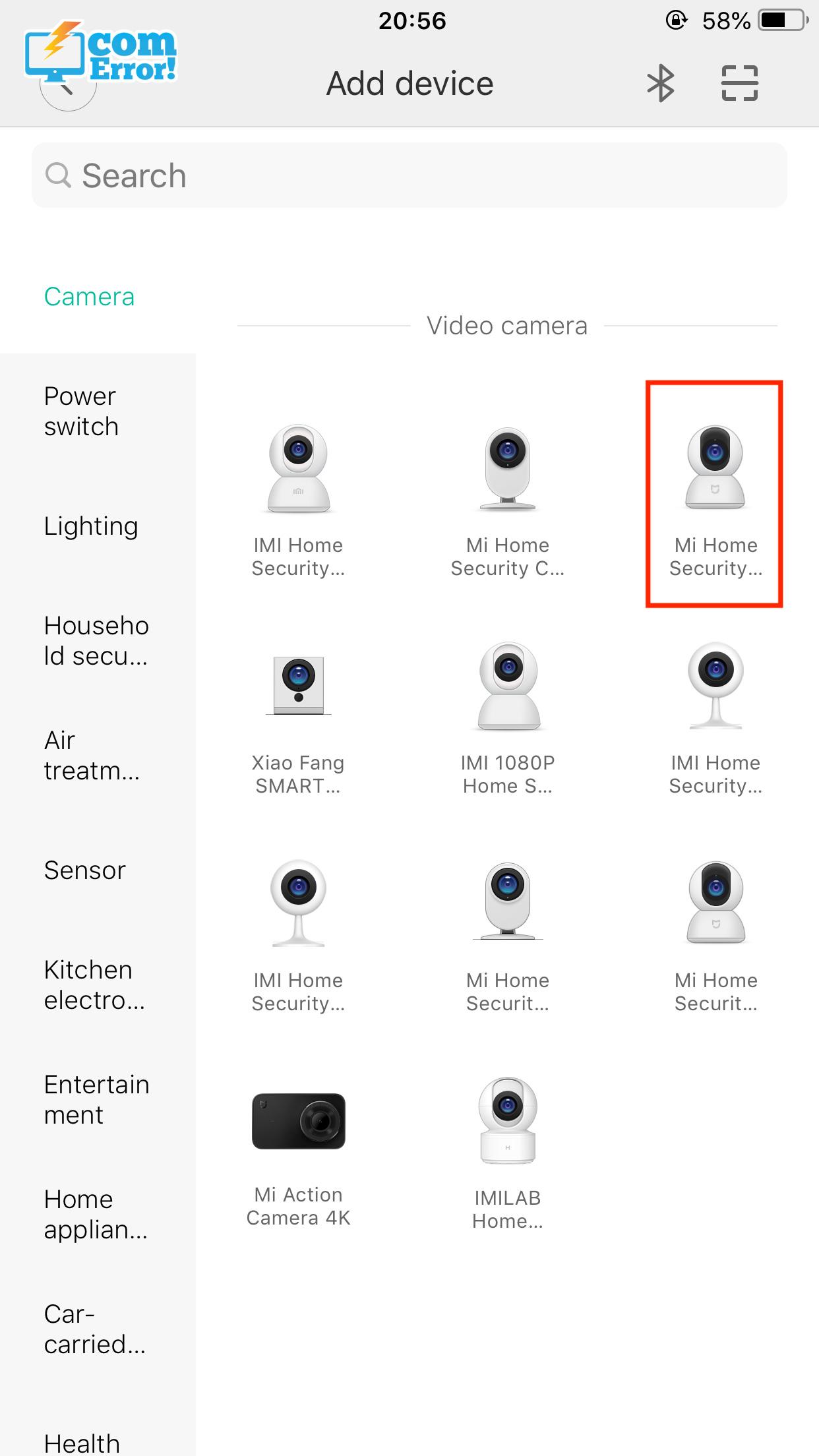 แอป Xiaomi Home และรุ่นกล้อง Mi Home Security Camera