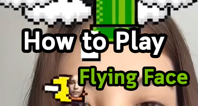 How to Play Flying Face Instagram Filter Game (Blinking Instagram Game)