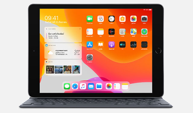 Apple เปิดตัว iPad 7th รุ่นใหม่ ปี 2019 จอ 10.2 นิ้ว