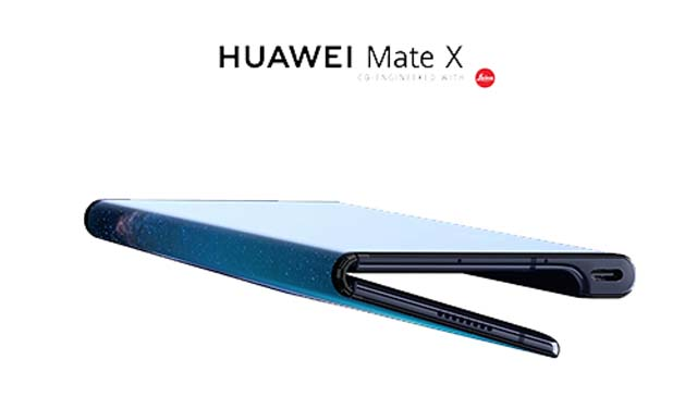 Huawei Mate X สมาร์ทโฟนหน้าจอพับได้ หมดสต็อคในเวลาไม่กี่นาที