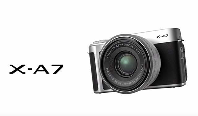 ประกาศเปิดตัว Camera Fujifilm X-A7 กล้องสุดฮิตเอาใจวัยรุ่น