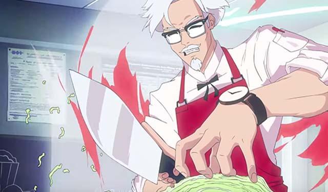 I Love You , Colonel Sanders! เกมจีบผู้พัน เอาใจสาวก KFC