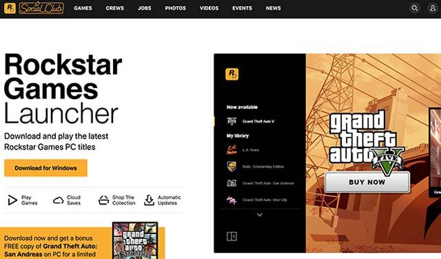 Rockstar ประกาศแถมฟรี GTA : San Andreas และเปิดตัว Games Launcher อย่างเป็นทางการ