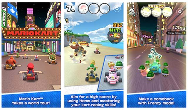 Mario Kart Tour มาแรง !! ปู่นินเทนโด ปล่อยตัวเกม ให้โหลดเล่นฟรีบน Android และ iOS