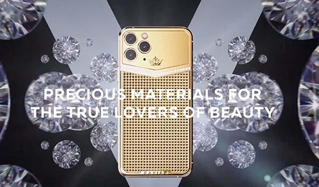 Caviar เปิดตัว iPhone 11 Pro และ iPhone 11 Pro Max ตกแต่งด้วยทองคำ เพชร