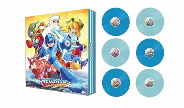 เปิดตัวชุดแผ่นเสียง Rockman สำหรับสะสม Mega Man 1-11: The Collection