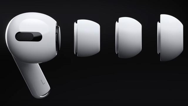 จุกหูฟังซิลิโคน 3 ขนาด สำหรับ AirPods Pro (ปลายหูเป็นซิลิโคนอ่อนนุ่มยืดหยุ่นได้)