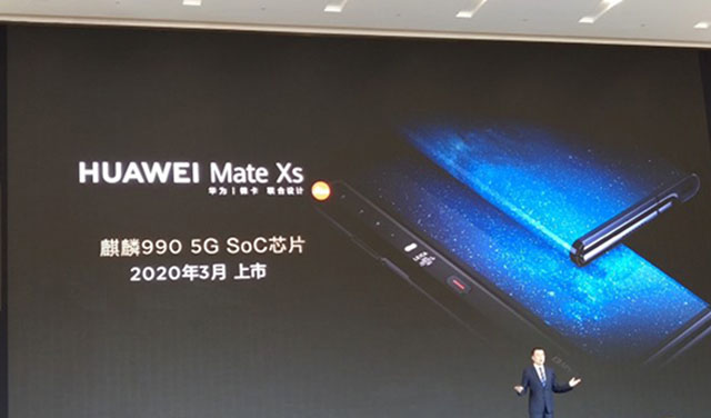 Huawei Mate Xs มาพร้อมกับ Kirin 990 5G สมาร์ทโฟนพับได้ เตรียมเปิดตัวในจีนเดือนมีนาคม 2020