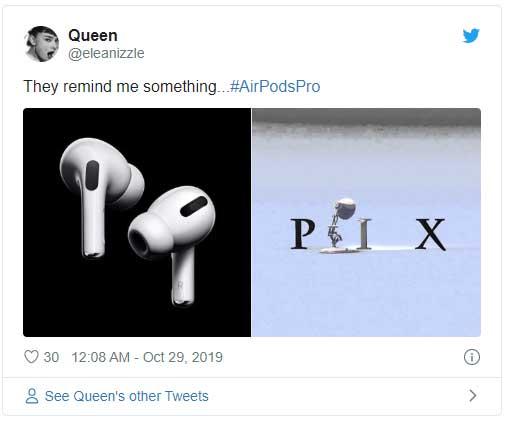 AirPods Pro คล้าย โคมไฟ Pixar