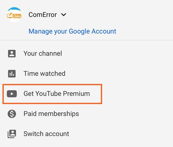 สมัคร Youtube Premium ในไทยได้แล้ว เริ่มต้นใช้ฟรี 1 เดือน