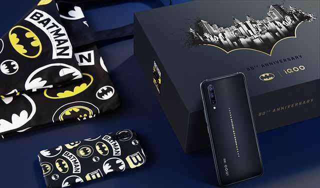 เปิดตัว Vivo iQOO Pro 5G - Batman Limited Edition ฉลอง 80 ปีแบทแมน