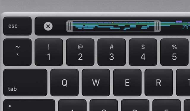 Magic Keyboard ใหม่ แป้นพิมพ์ลึกแค่ 1 mm มาพร้อมปุ่ม Escape และปุ่มลูกศรรูปตัว T กลับหัว รวมถึง Touch Bar และTouch ID