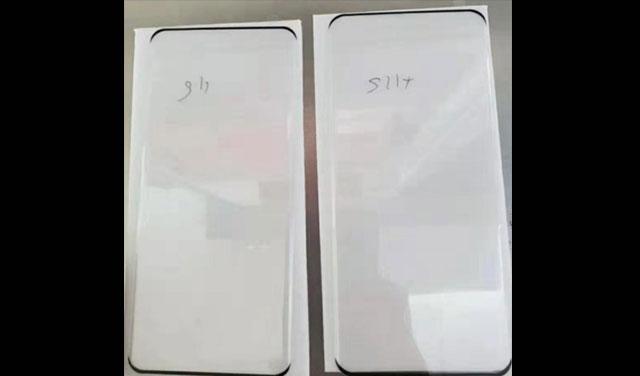 ฟิล์มกันรอยของ Samsung Galaxy S11 และ S11+ อวดขอบรูปทรงเพรียวบาง