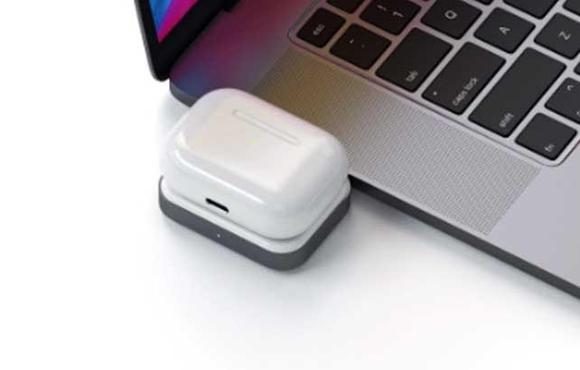 Satechi เปิดตัว USB-C Wireless Charging Dock แท่นชาร์จไร้สายสำหรับ AirPods