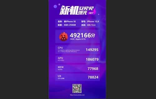 AnTuTu เผย!! ผลคะแนนการทดสอบประสิทธิภาพของ iPhone SE (2020) รุ่นใหม่