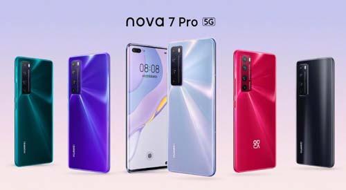 เปิดตัว Huawei Nova 7 Series อย่างเป็นทางการ