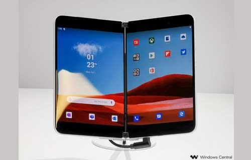 หลุด!! สเปกของ Microsoft Surface Duo มาพร้อมกับกล้อง 11MP , ชิปเซ็ต Snapdragon 855 , RAM 6GB และอื่นๆอีกเพียบ