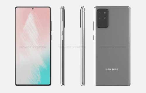 หลุด!! Samsung Galaxy Note 20 จะใช้หน้าจอแบบเรียบ