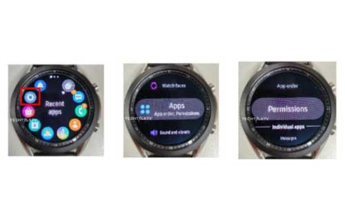 หลุด!! ภาพหน้าจอแสดงผลของ Samsung Galaxy Watch 3 เผยให้เห็นสเปกบางส่วน