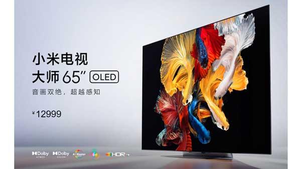 Xiaomi เปิดตัว Mi TV Master สมาร์ททีวี OLED ความละเอียด 4K ขนาด 65 นิ้ว ในประเทศจีน ราคา 12,999 หยวน
