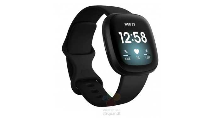 หลุด!! ภาพเรนเดอร์ของ Fitbit Sense , Versa 3 และ Inspire 2 มาพร้อมดีไซน์ใหม่ที่ไม่มีปุ่มด้านข้าง