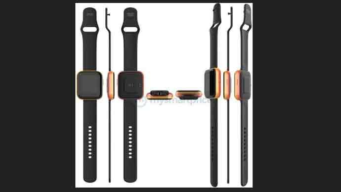 เผย!! ดีไซน์ทรงสี่เหลี่ยมจัตุรัสของ Realme Smart Watch ปรากฏบนเว็บไซต์สิทธิบัตรของจีน CNIPA
