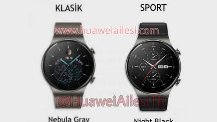 หลุด!! ภาพและคุณสมบัติของ Huawei Watch GT 2 Pro สมาชิกใหม่ในตระกูล Watch GT Series