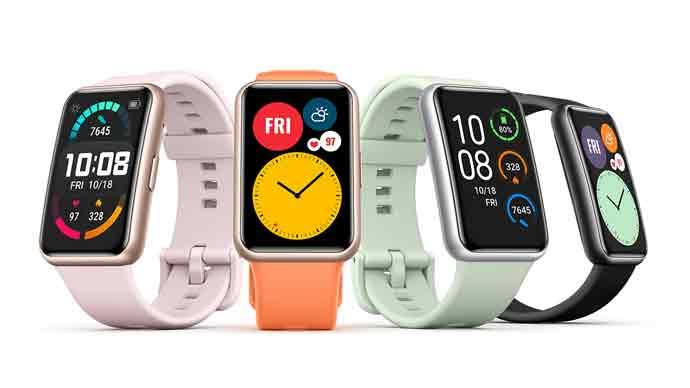 เปิดตัวสมาร์ทวอทช์รุ่นใหม่ Huawei Watch Fit อย่างเป็นทางการ ในราคาเพียง 3,499 บาท