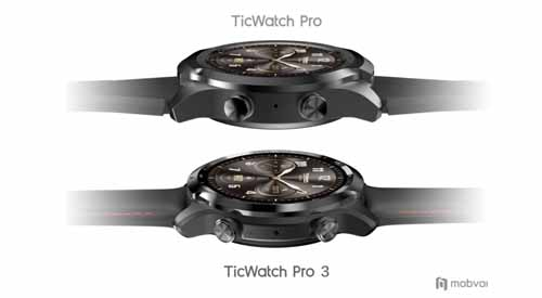Mobvoi เปิดตัวสมาร์ทวอทช์ TicWatch Pro 3 GPS รุ่นแรกของโลกที่ใช้ชิปเซ็ตรุ่นใหม่ Qualcomm Snapdragon Wear 4100