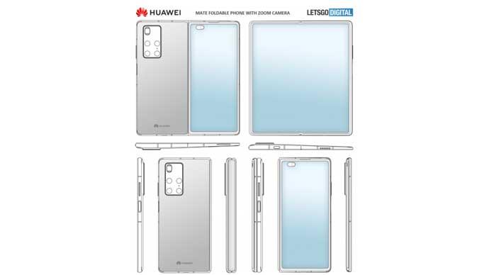 เผย!! สิทธิบัตรใหม่ของสมาร์ทโฟนจอพับได้ Huawei Mate X2 รุ่นใหม่ พร้อมทั้งเผยหมายเลขรุ่น