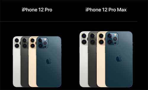 รายละเอียดของ iPhone 12 Pro / iPhone 12 Pro Max