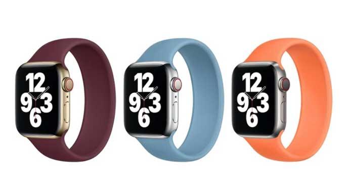 Apple เพิ่มสีใหม่ให้กับสาย Solo Loop และสาย Sport Band ของ Apple Watch ทั้งหมด 3 สี