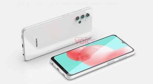 เผย!! ภาพเรนเดอร์ CAD ของสมาร์ทโฟน Samsung Galaxy A32 (5G) มาพร้อมหน้าจอแสดงผล Infinity-V