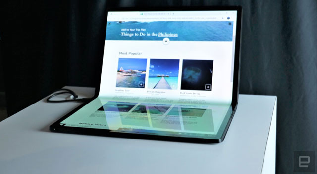 Intel เปิดตัว Horseshoe Bend แท็บเล็ตจอพับได้ มาพร้อมหน้าจอขนาดใหญ่