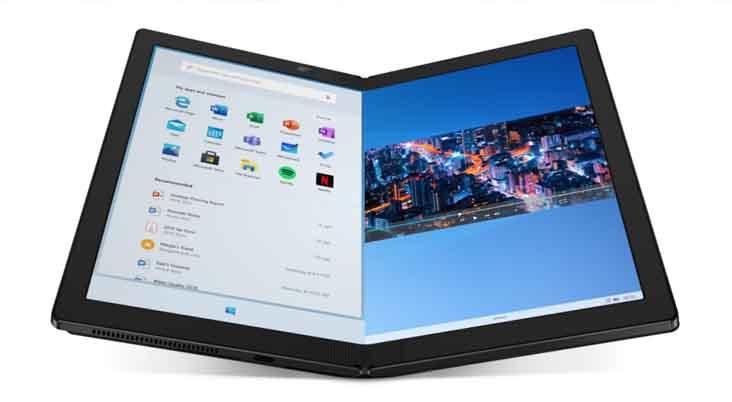 Lenovo เปิดตัว ThinkPad X1 Fold คอมพิวเตอร์พับได้ น้ำหนักเบา เครื่องแรกของโลก