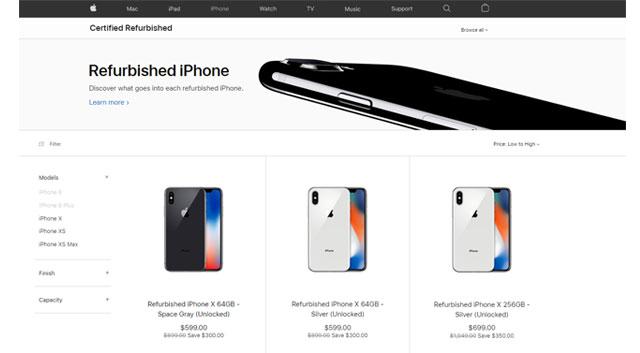 Apple เริ่มจำหน่าย iPhone XS และ iPhone XS Max เครื่อง Refurbished อย่างเป็นทางการ